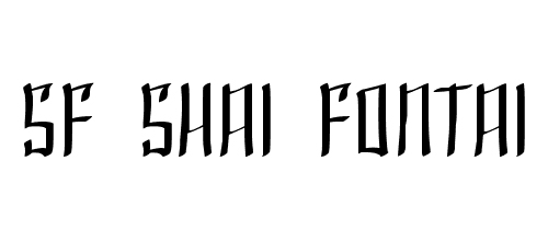 shai font