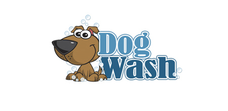 dog wash logo