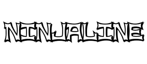 ninja line font