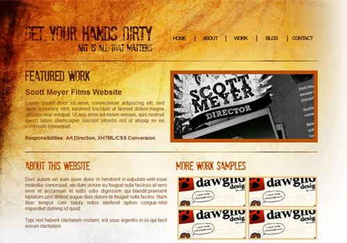 code grunge website