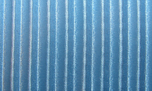striped blue fabric