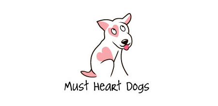 must heart dogs logo