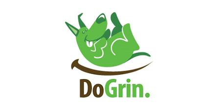 do grin dog logo