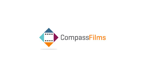 Compass Films logo design