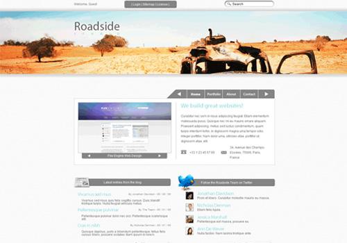 slick website from scratch