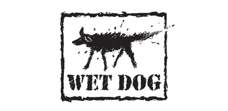 wet dog logo