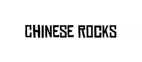 free chinese rocks font