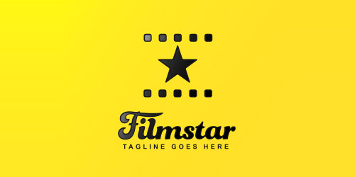 film star logo design