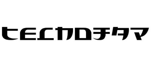 technojap font
