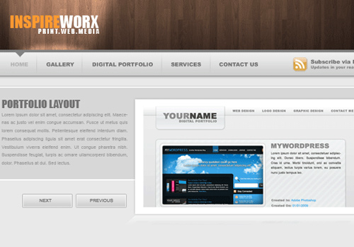 web design layout site