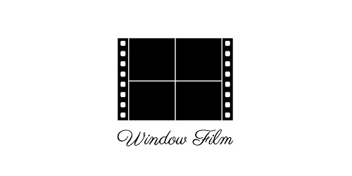 window film logo design