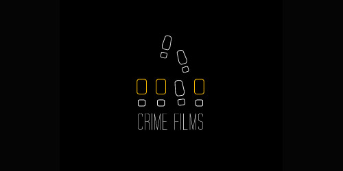 crime films logo design