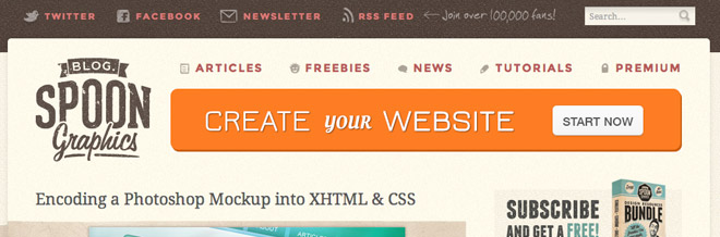 A Collection of PSD to Html Conversion Tutorials