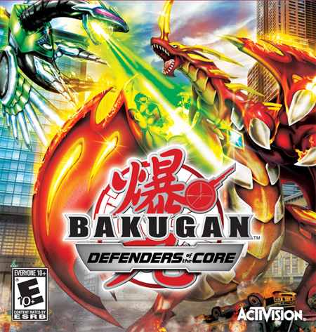 Bakugan: Defenders of the Core cover
