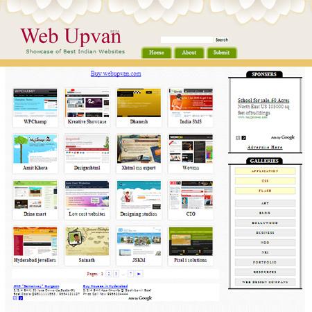 Web Upvan