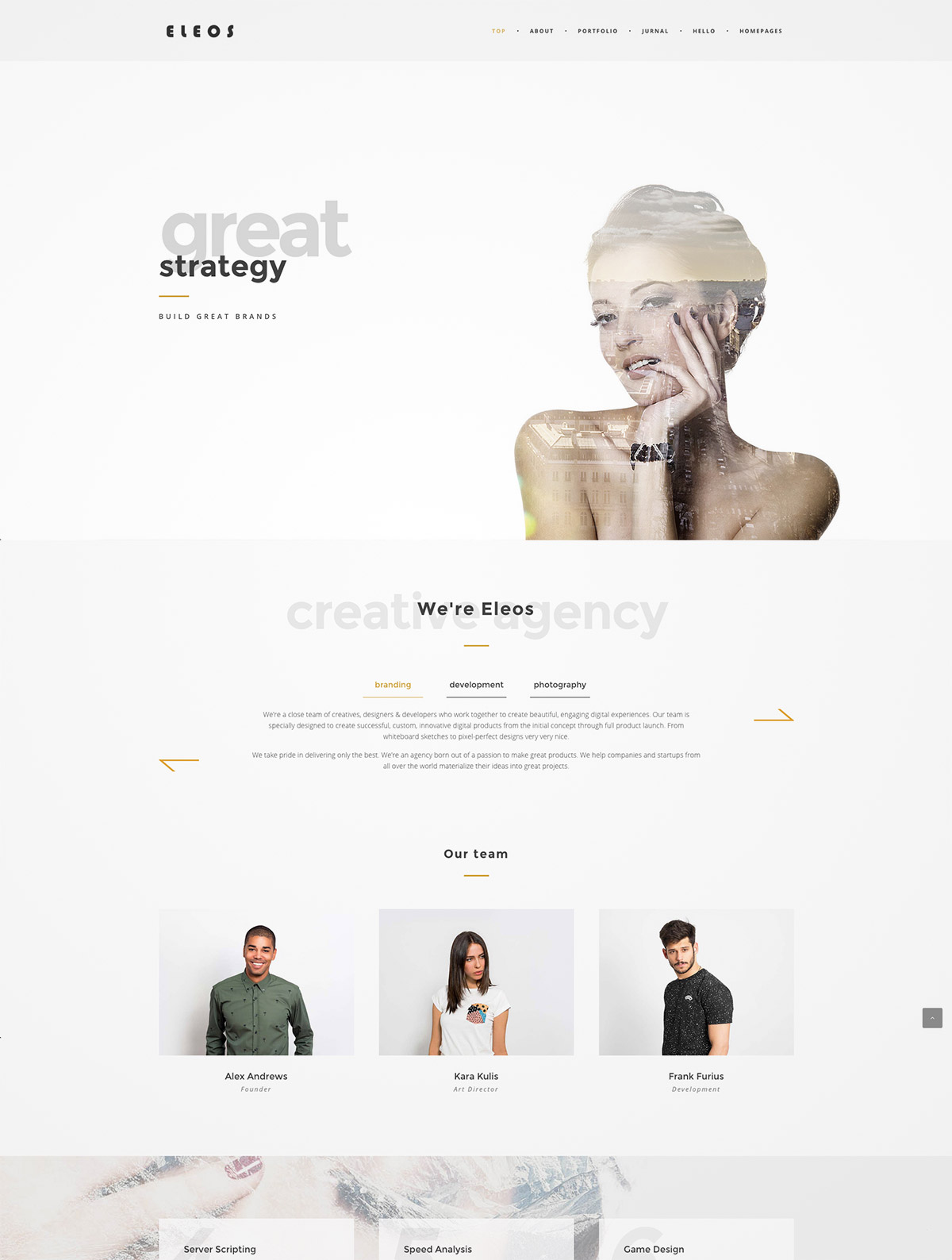 creative themes wordpress