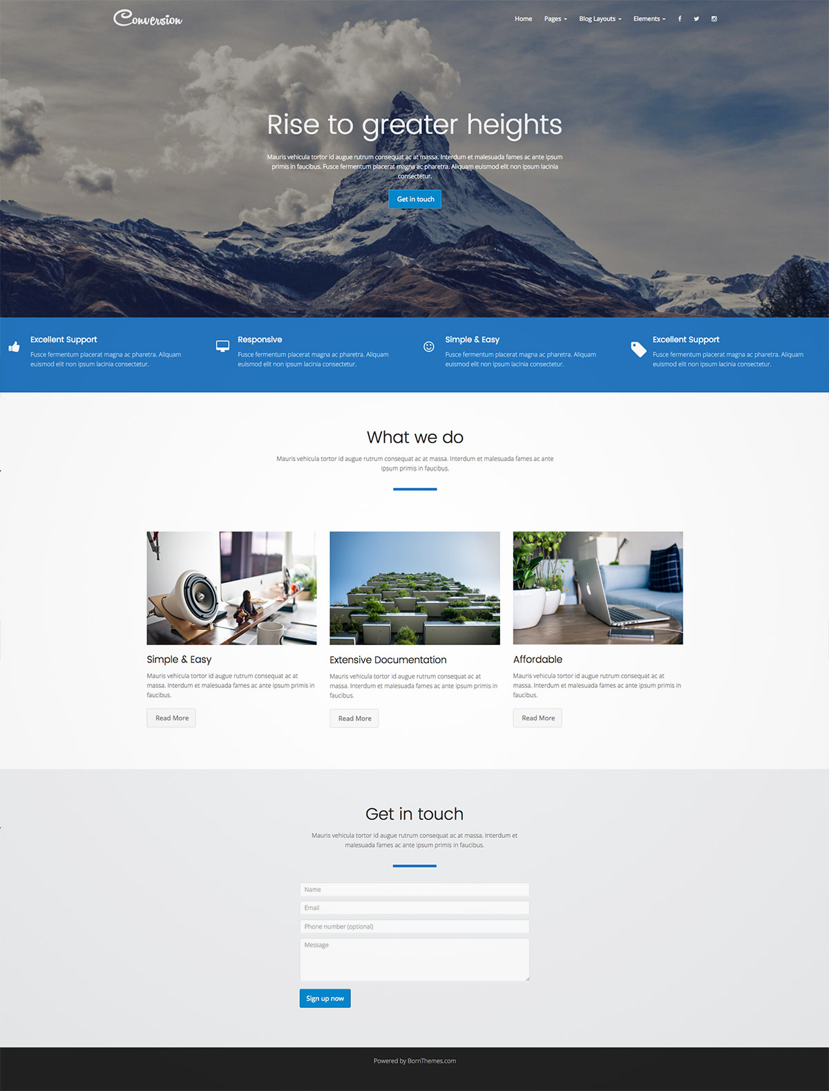 multipurpose marketing themes