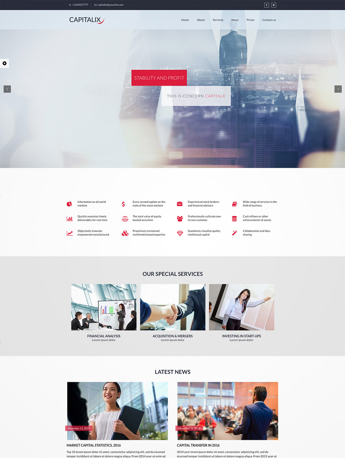 business finance theme