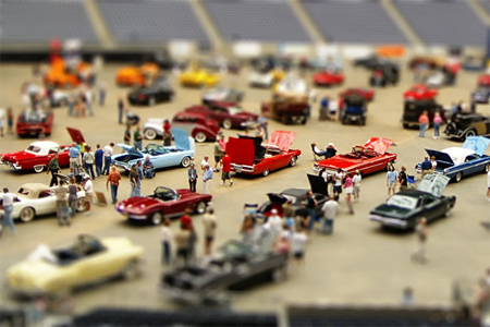 Classy Chassis Car Show-Fake Miniature