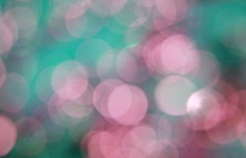 Green pink bokeh texture