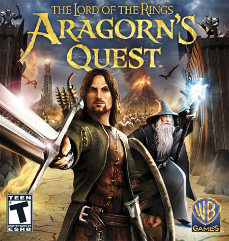 Lord of the Rings: Aragorn's Quest cover