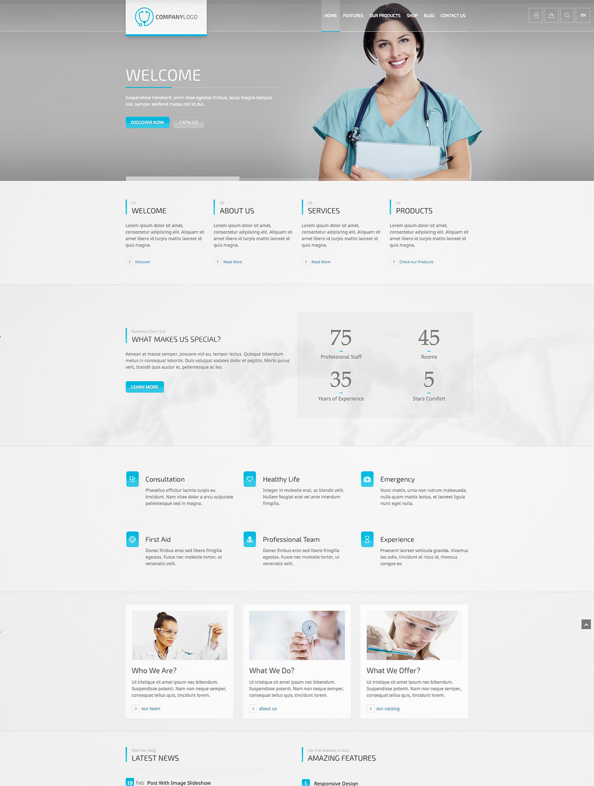 corporate theme wordpress