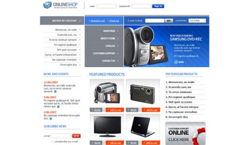 online store shop
