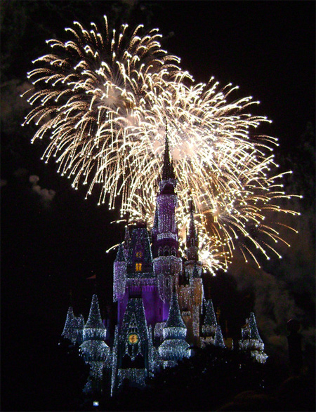 Cinderellas Castle at Night:23