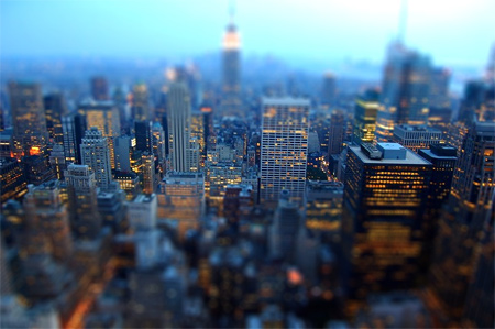 Tilt Shift-Manhattan