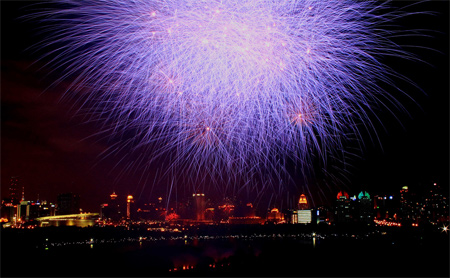 Century Park Fireworks 0930