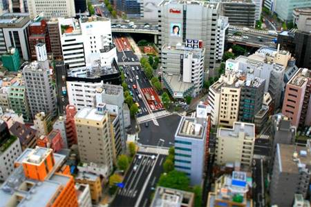 The Kakigaracho Crossing Tokyo Japan