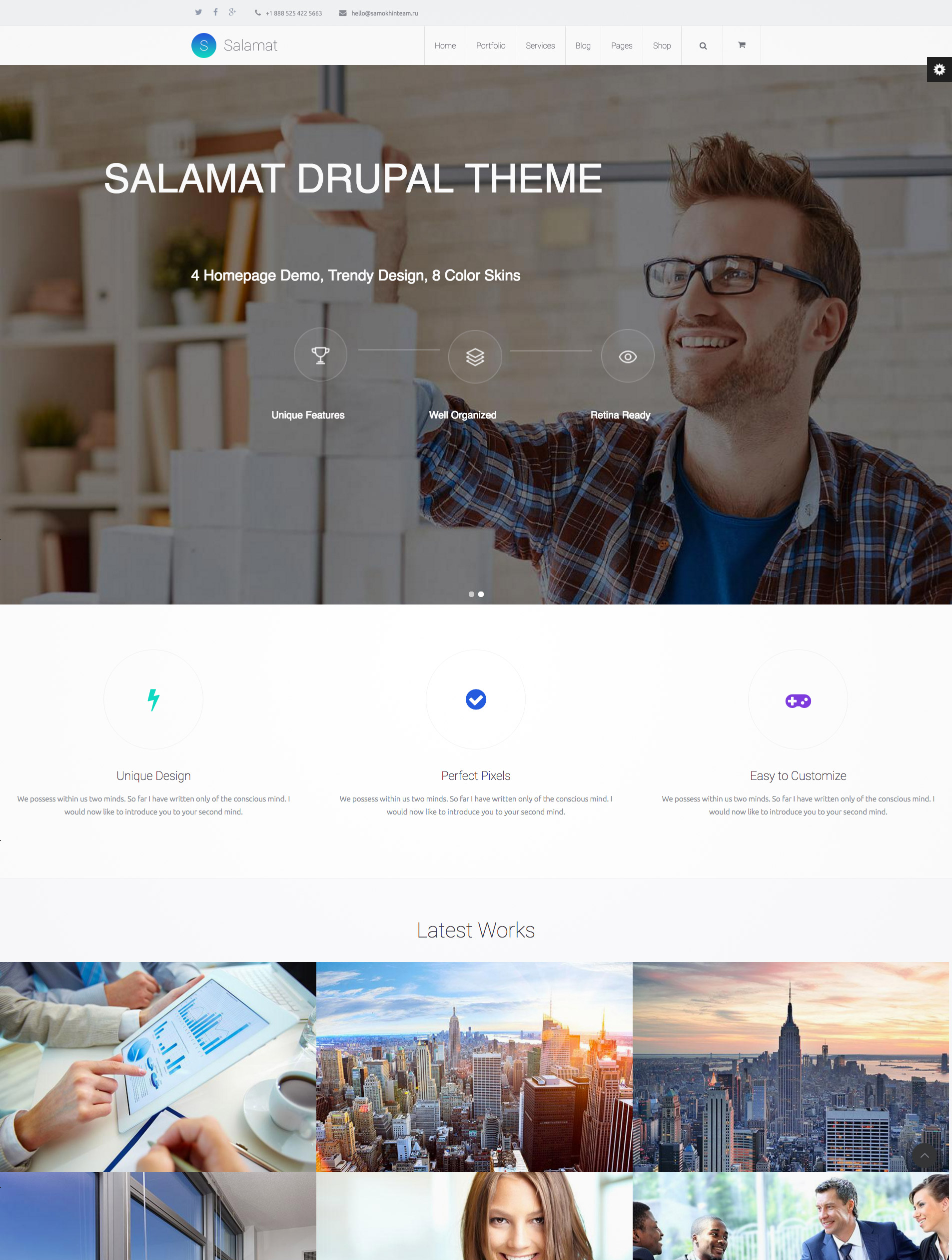 multipurpose drupal themes