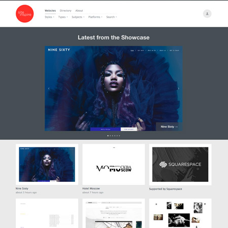 site inspire web gallery