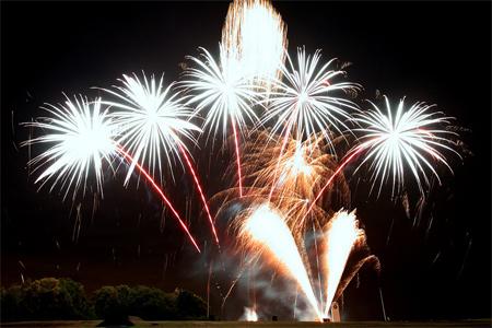 Bisley Fireworks 2009
