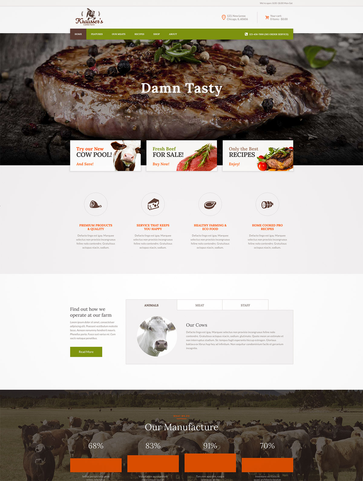 farm market theme