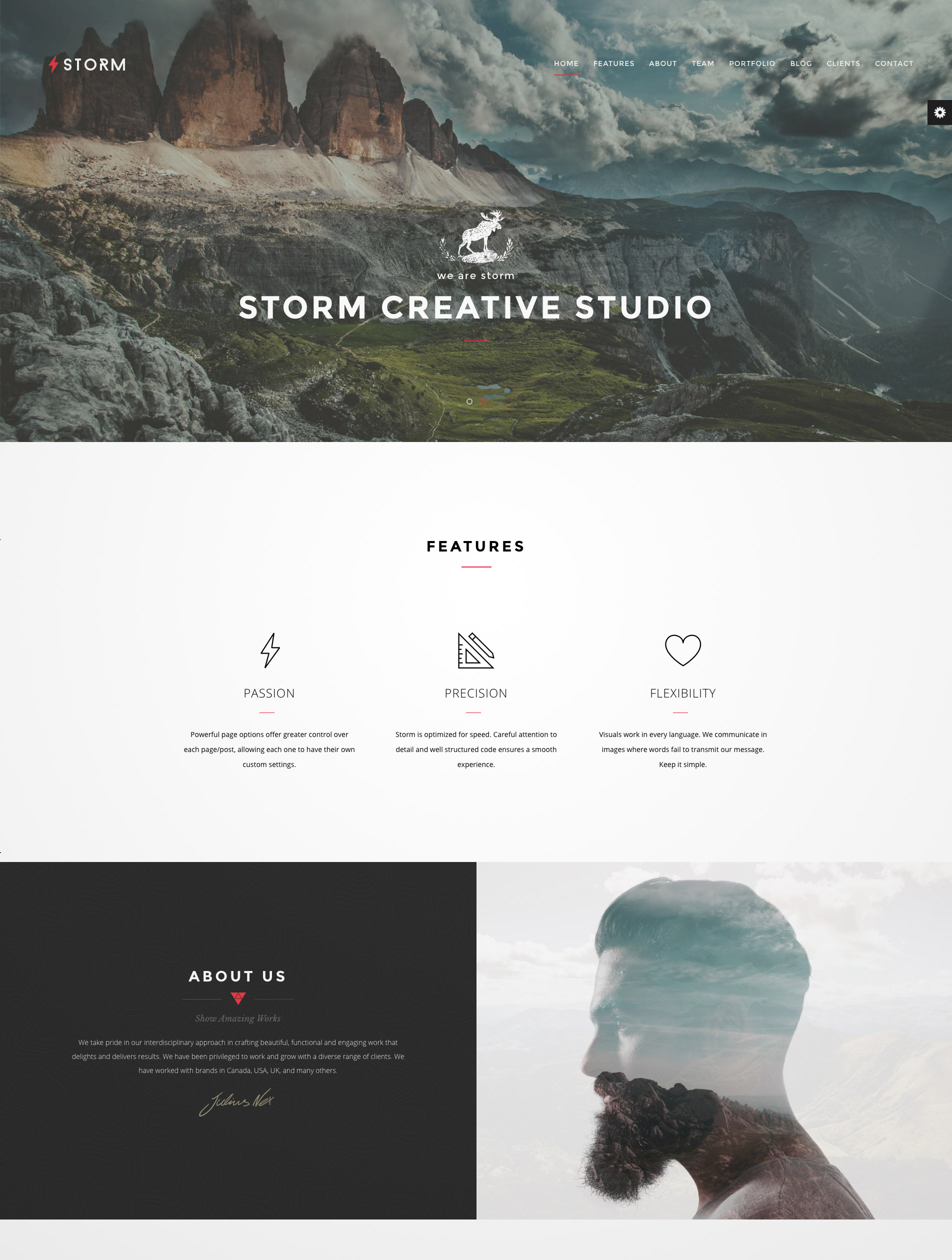 multipurpose themes minimal