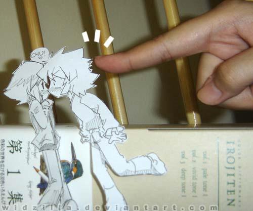 paper manga art