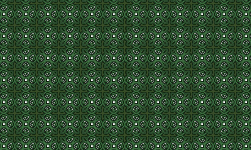 Cross green pattern