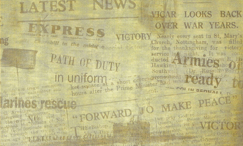 old newspaper texture