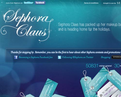 Sephora Claus