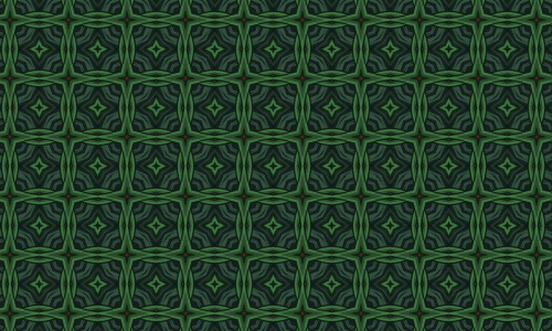 Amazing green pattern