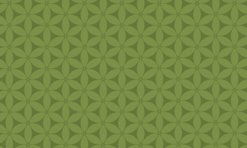 Nice flower green pattern