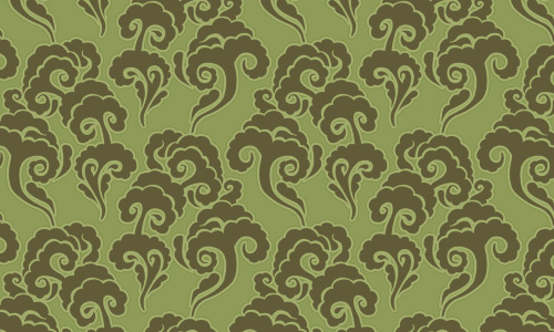 Smoke green pattern