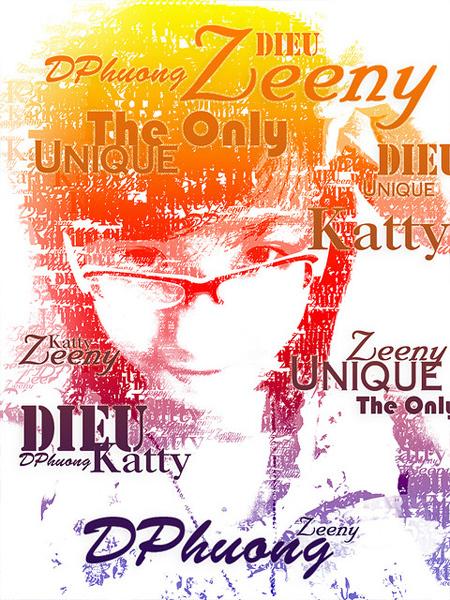 (Typography)Self Portrait