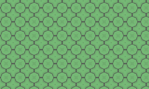 Cool green pattern