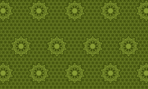 Tina green pattern