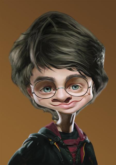 Harry Potter Caricature