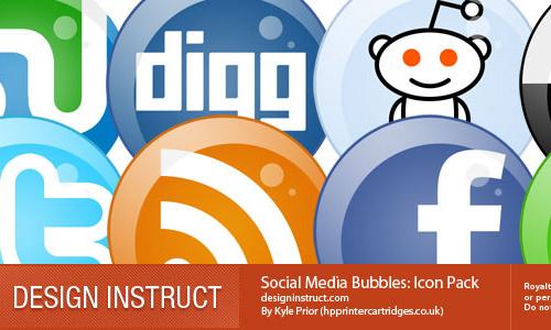 social site icons