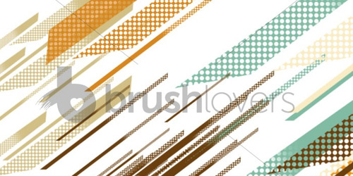 Retro Diagonals brushlovers