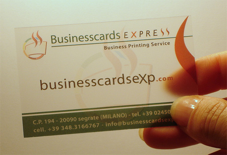30 unique examples of transparent business cards naldz graphics translucent plastic business card colourmoves